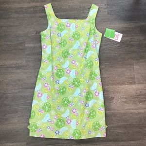 Lilly Pulitzer Paley Guava Green Dress 6 NWT
